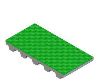 Recubrimiento Elastómero verde para correas dentadas