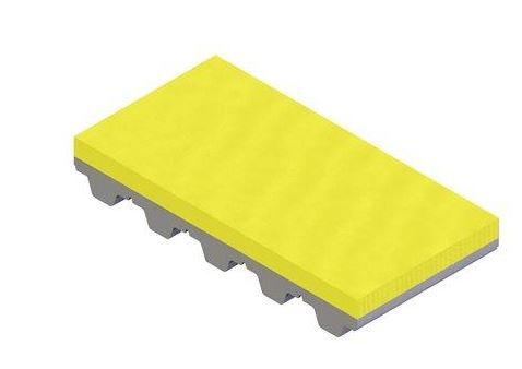 PU yellow coating for timing belts