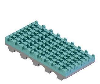 Recubrimiento PVC Súper agarre petrol para correas dentadas