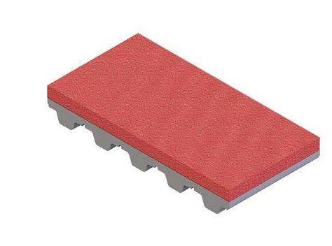 Sylomer red coating for timing belts